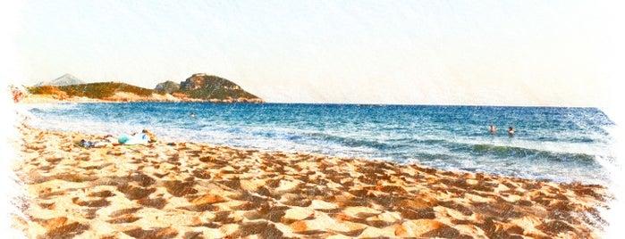 Romanos Beach is one of Lieux sauvegardés par Rania.