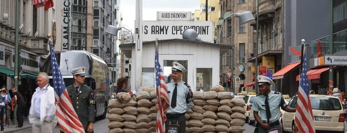 Checkpoint Charlie is one of Berlin / Germany.
