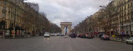 Avenue des Champs-Élysées is one of  Paris Sightseeing .