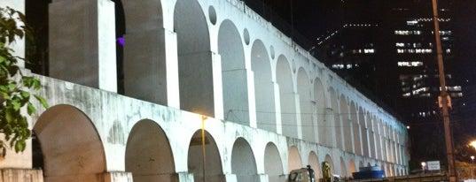 Arcos da Lapa is one of Lazer.
