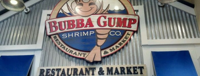 Bubba Gump Shrimp Co. is one of Gitmek gerek.