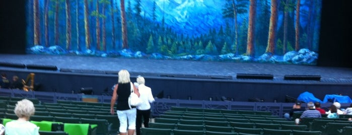 The Muny is one of Best Places in #STL #visitUS.