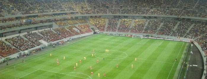 Arena Națională (National Arena) is one of Soccer Stadiums.