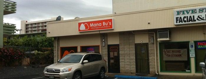 Mana Bu's is one of Aloha Hawaii.