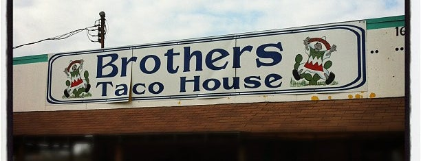 Brothers Tacos is one of H-Town.