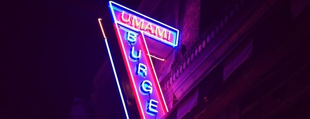 Umami Burger is one of Claire's top 100 LA bars and restaurants.