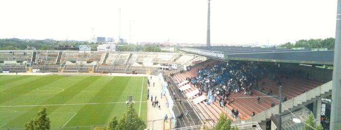 Städtisches Stadion an der Grünwalder Straße is one of Best Stadiums.