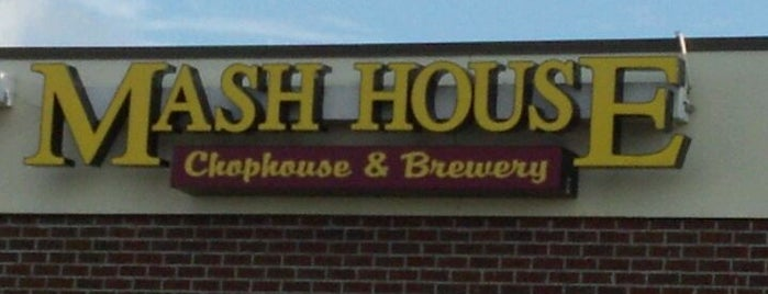 Mash House Chophouse & Brewery is one of NC Craft Breweries.