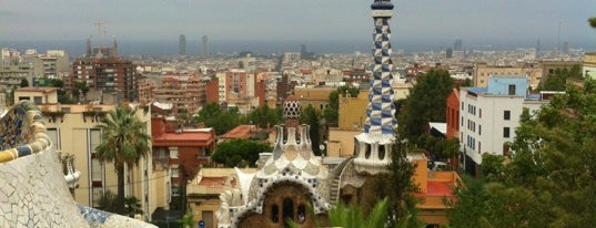 Parque Güell is one of Barcelona City Guide.