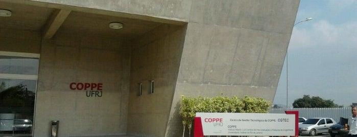 Departamento de Engenharia Eletrônica e de Computação (DEL) is one of UFRJ.