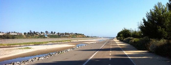 Santa Ana River Bike Trail (@ Adams Ave) is one of HB Drive.