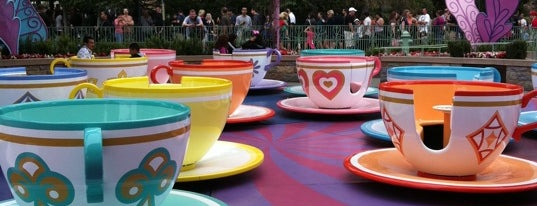 Fantasyland is one of Disneyland: The Happiest Place on Earth.