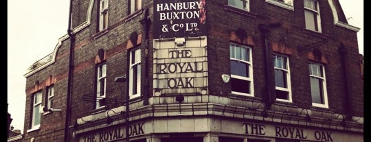 The Royal Oak is one of London Drinking.