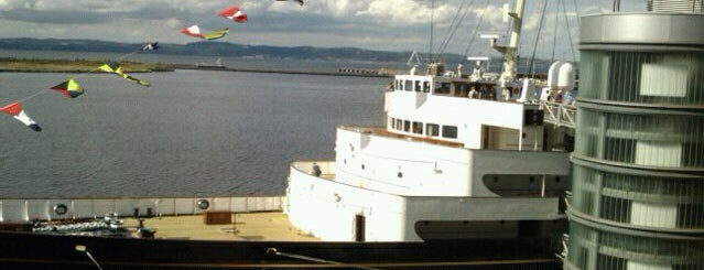 The Royal Yacht Britannia is one of Must visit Edinburgh Attractions.