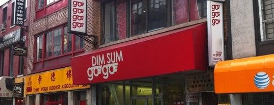 Dim Sum Go Go is one of Favorite food below 14th.