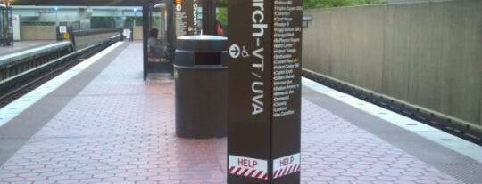West Falls Church-VT/UVA Metro Station is one of DC Metro Insider Tips.