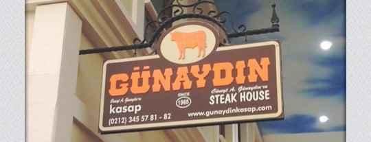 Günaydın Kasap & Steakhouse is one of Kebap, Lahmacun, Doner vb..