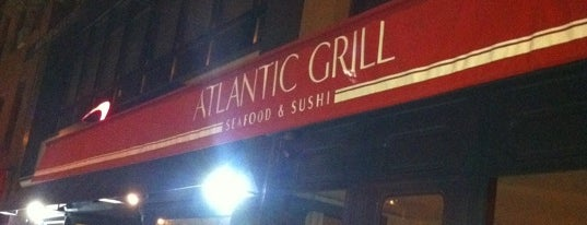 Atlantic Grill is one of NYC Restaurant Week Downtown.