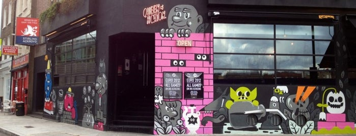 Queen of Hoxton is one of London's Best Bars - 2013.