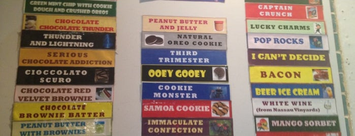 The Ice Cream Store is one of Delaware.