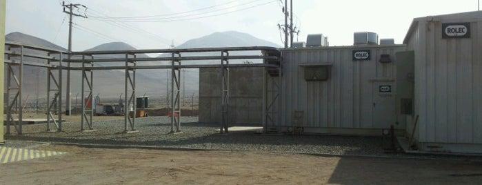 Estación de bombeo N1 SAAM Algorta Norte S.A. is one of Tempat yang Disukai Luis.