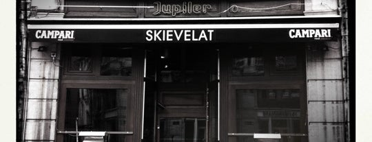 Skievelat is one of Belgium - Resto.