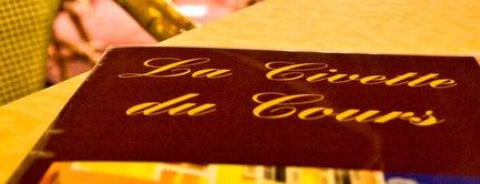 La Civette du Cours is one of FR2DAY's Favourite Cafés & Bars on the Côte d'Azur.