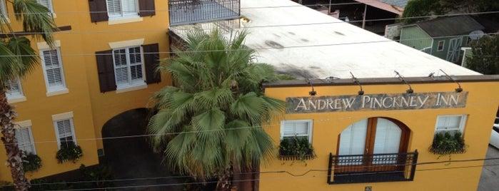 Andrew Pinckney Inn is one of SC.