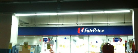 NTUC FairPrice is one of Locais curtidos por Ted.