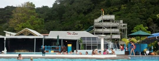 Waiwera Thermal Spa Resort is one of NZ to go.