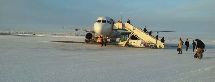 Kittilä Airport (KTT) is one of LAPLAND - xplore.