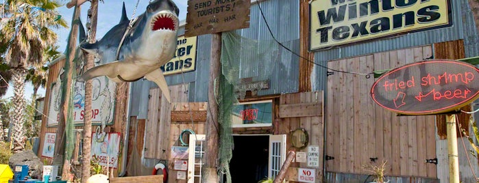 Moby Dick's Restaurant & Saloon is one of Best Port Aransas, TX restaurants.