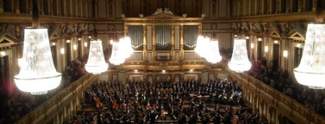 Musikverein is one of Vienna - unlimited.