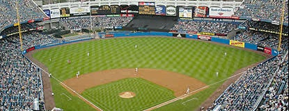 Yankee Stadium is one of New York.