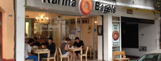 Karma Bagels is one of DF Dining.