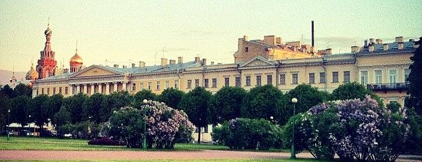 Field of Mars is one of Мистический Петербург.
