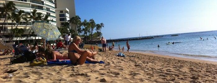 Kaimana Beach Park is one of Honolulu: The Big Pineapple #4sqCities.