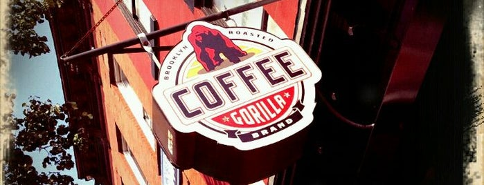 Gorilla Coffee is one of NYC  cafe / coffee lovers (esp soy milk drinkers).