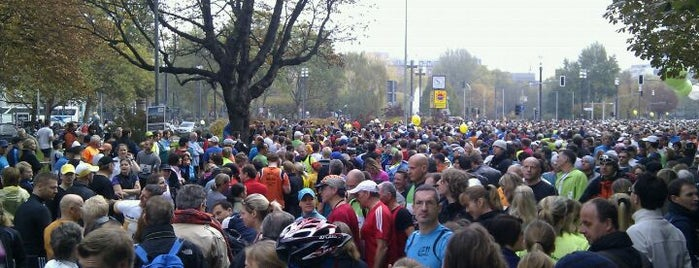 Frankfurt Marathon is one of Lugares favoritos de Christoph.