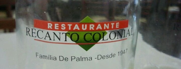 Restaurante Recanto Colonial is one of Restaurantes.