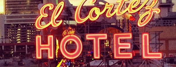 El Cortez Hotel & Casino is one of Vegas Places with Check-In Deals.