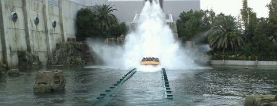 Jurassic Park: The Ride is one of Universal Studios Japan.