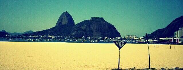 Enseada de Botafogo is one of The Beaches in Rio de Janeiro, Brazil.