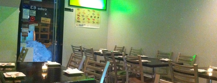 Cube Sushi is one of Tempat yang Disimpan The Blaq Group.