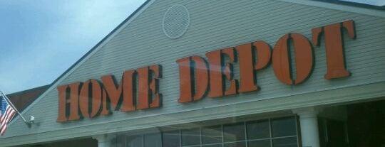 The Home Depot is one of Tempat yang Disukai George.