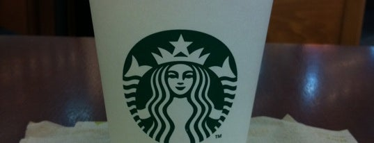 Starbucks is one of le 4sq with Donald :).