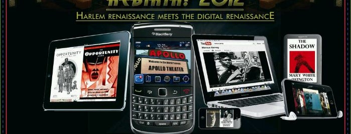 Rebirth! 2012 Harlem Renaissance meets the Digital Renaissance is one of Rebirth!: Harlem Renaissance To-do List.