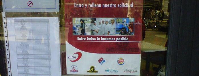 Burger King is one of Ofertas Callejeras Restauración Barcelona.