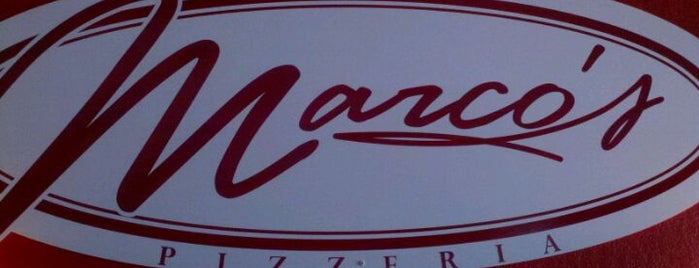 Marco's Pizzeria is one of Naomi's Liked Places.