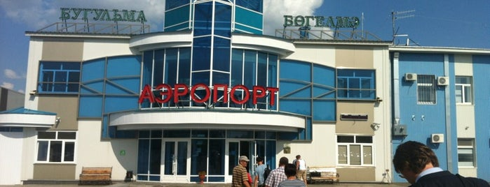 Bugulma Airport (UUA) is one of Free WiFi Airports 2.